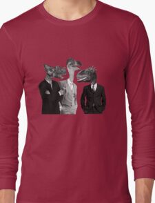 The Saurus Society - No Extinction Theory Conversation Long Sleeve T-Shirt