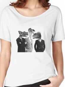 The Saurus Society - No Extinction Theory Conversation Women's Relaxed Fit T-Shirt