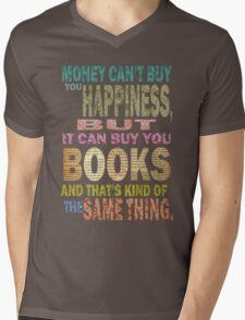 For The Love Of BOOKS! Mens V-Neck T-Shirt