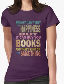 For The Love Of BOOKS! Womens Fitted T-Shirt