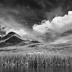 Clouds Near Pyramid Mountain  by Ian Robertson