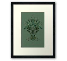 @spirit of Green' Framed Print