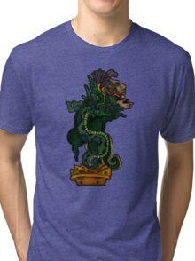 Mayan Serpent God Tri-blend T-Shirt