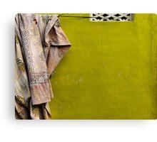 Cloth on a line - Mysore Canvas Print
