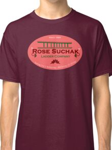 Arose Such A Clatter (Rose Suchak Ladder) - Red Classic T-Shirt