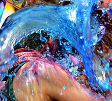 A Bucket of Blue by lamiel
