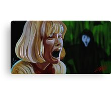 What's Your Favorite Scary Movie? Canvas Print