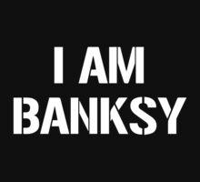 I Am Banksy Kids Clothes