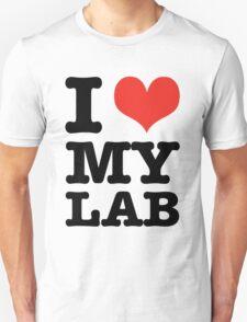 I Love My Lab T-Shirt