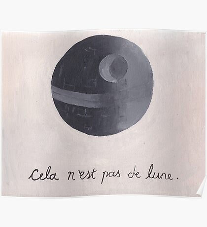 Cela n'est pas de lune (The Treachery of Sith) Poster