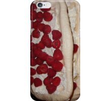 Raspberry Pavlova iphone cover iPhone Case/Skin