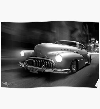 Buick Noir Poster