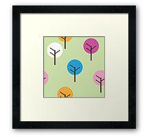 Trees by Gemma (Aged 6) Framed Print