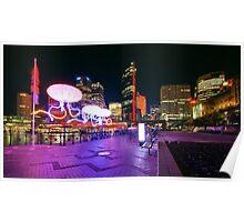Sydney Skyline - Vivid Sydney Festival Poster