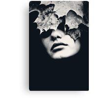 Ritratto d'autunno Canvas Print
