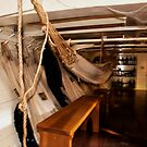 Hammocks, Below Decks on a Sailing Ship. by Billlee
