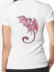 The Dragon of Spring Women's Fitted V-Neck T-Shirt