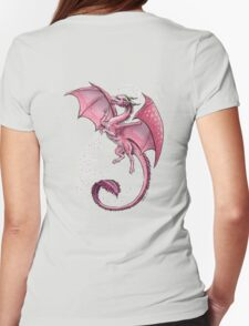 The Dragon of Spring Womens Fitted T-Shirt