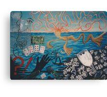 Chaos sea Canvas Print