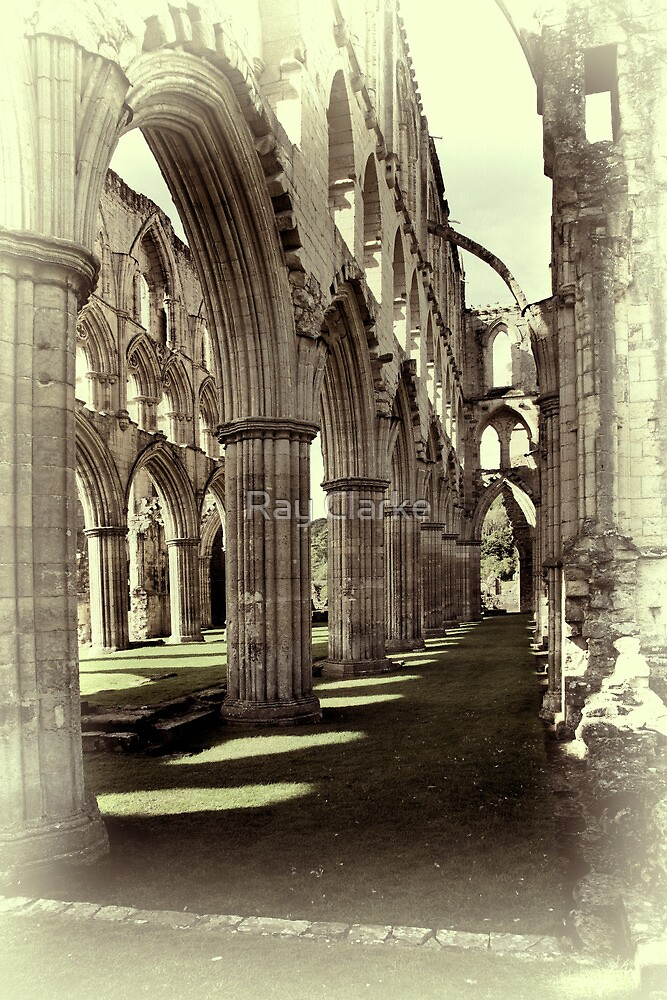 Rievaulx Abbey 4 by Ray Clarke