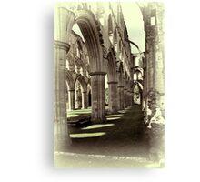 Rievaulx Abbey 4 Canvas Print