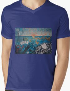 Chaos sea Mens V-Neck T-Shirt