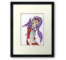 Queenie & Chesire Framed Print