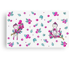 Berry Sisters Canvas Print