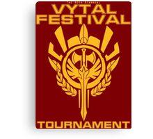 Vytal Fesitval Tournament - Gold Canvas Print