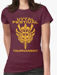 Vytal Fesitval Tournament - Gold Womens Fitted T-Shirt