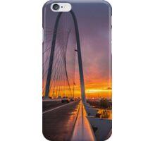Dallas November Storm Sunset iPhone Case/Skin