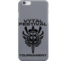 Vytal Festival Tournament - Black iPhone Case/Skin