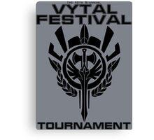 Vytal Festival Tournament - Black Canvas Print