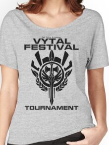 Vytal Festival Tournament - Black Women's Relaxed Fit T-Shirt