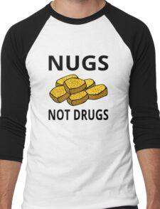 Nugs Not Drugs Men's Baseball ¾ T-Shirt