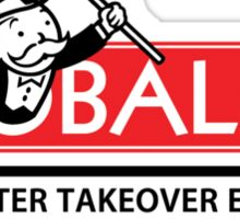 Globalist Monopoly Sticker