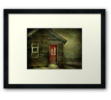 Abandoned (like Andrew Wyeth) Framed Print