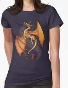 Dragon of Autumn Womens Fitted T-Shirt