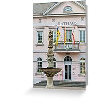 Town Hall in Remagen Greeting Card
