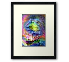 At Sea Framed Print