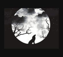 Bark at the Moon One Piece - Short Sleeve