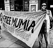 Free Mumia by BrettNDodds
