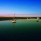 Cold Dawn At Burnham Overy Staithe by Pixelbloke