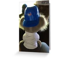 A Blue Jays Fan Greeting Card
