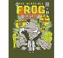 THE INCREDIBLE FROG Photographic Print