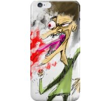 The Angry man iPhone Case/Skin