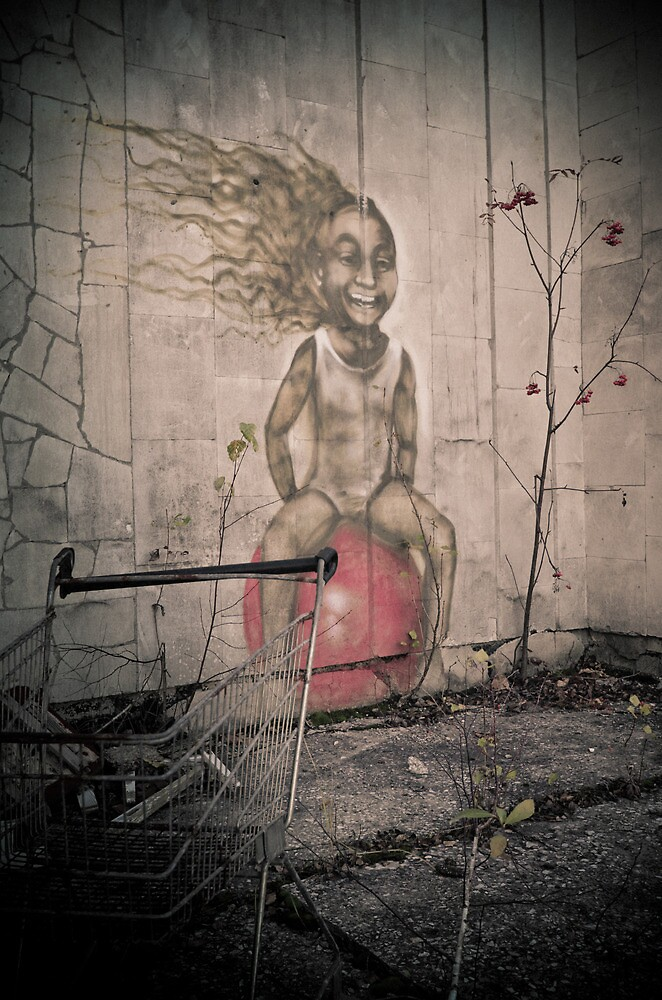 Bounce ~ Pripyat  by Josephine Pugh