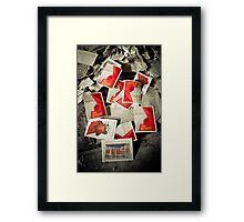 Commemoration ~ Pripyat  Framed Print