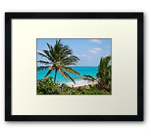 A Special Man O' War Cay View of the Atlantic Ocean Framed Print