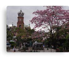 Springtide In Puerto Vallarta - Pimavera En Puerto Vallarta Canvas Print